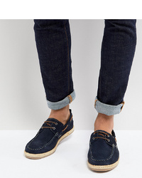 Silver Street Wide Fit Boat Shoes