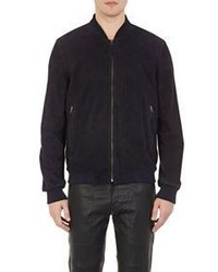 Lot 78 X Barneys New York Suede Bomber Jacket