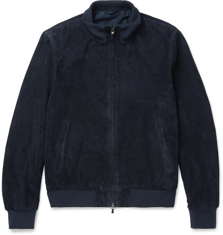 outlet for sale buy popular cozy fresh $1,250, Hackett Mayfair Suede Bomber Jacket