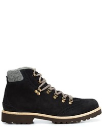Eleventy Lace Up Hiking Boots