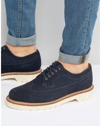 Dr. Martens Dr Martens Windsor 3989 Suede Brogue Shoes