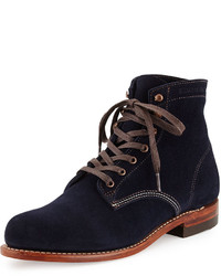 1000 mile suede boot navy medium 396531