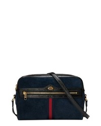 Gucci Ophidia Small Suede Crossbody Bag
