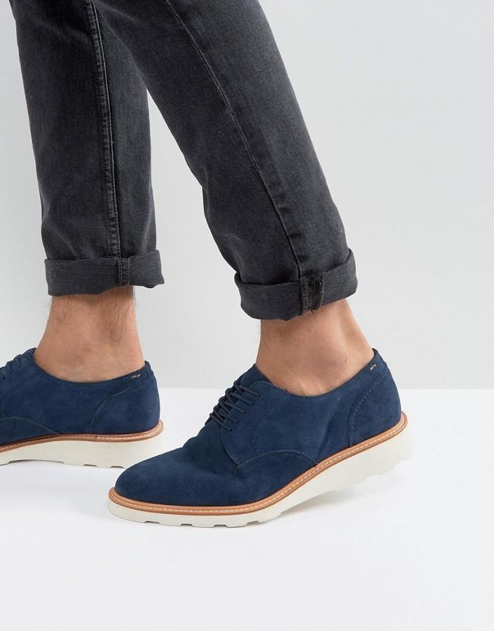 Aldo Muggli Suede Derby Shoes, $126