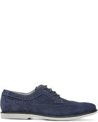 Hogan Suede Derby Shoes