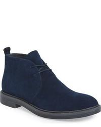 dernière mode premier taux prix plancher Men's Navy Suede Boots by Calvin Klein | Men's Fashion ...
