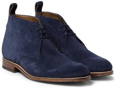 Grenson Marcus Suede Chukka Boots, $410