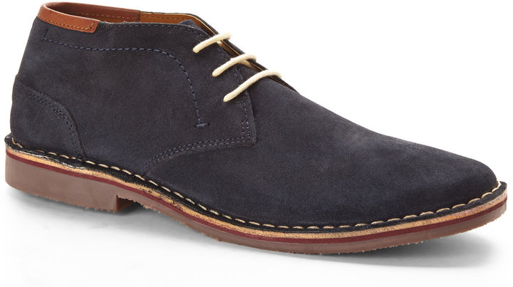 Kenneth Cole Reaction Navy Desert Sun Boots | Where to buy & how ...