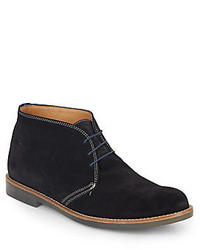 Saks Fifth Avenue Suede Chukka Boots