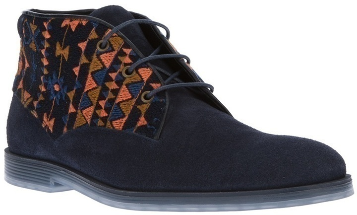 Navy Suede Desert Boots Swear Logan 11 Boot | Where to buy u0026 how to wear