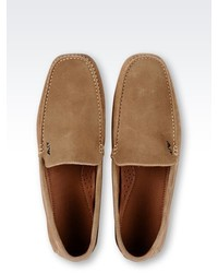Armani Jeans Suede Driving Shoe