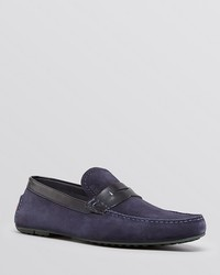 Hugo Boss Boss Rellino Suede Driving Loafers