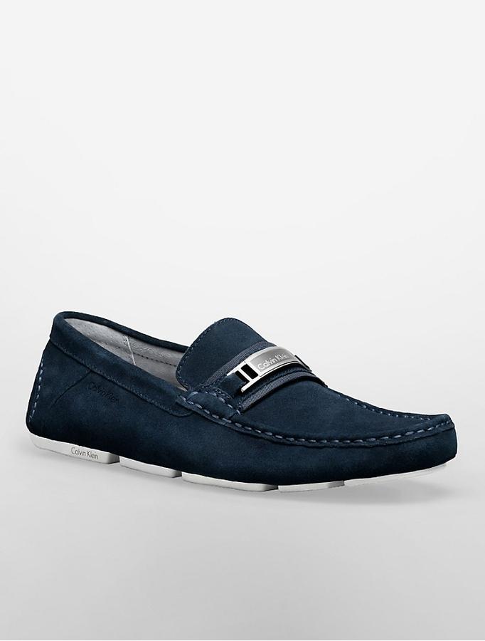 Suede Loafers Calvin Klein dbkH0QOq