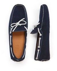 Mango Outlet Suede Driving Shoes