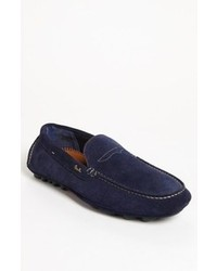 Paul Smith Rico Driving Shoe Navy Suede 8us 7uk M