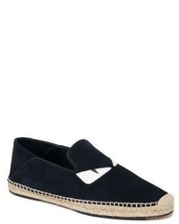 Fendi Monster Suede Espadrilles