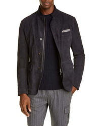 Eleventy Suede Jacket