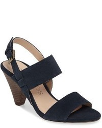 Sole Society Valor Cone Heel Sandal