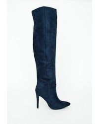 Charlotte Russe Double Belted Knee High Riding Boots  Where to
