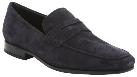 Tod's Mens Blue Suede Loafers sale popular 8nLRFybct
