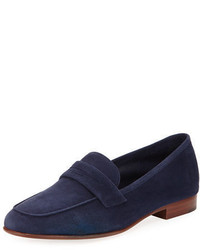 Classic flat suede loafer medium 3745692