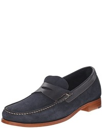 16f813014f8 Men s Navy Suede Loafers by Johnston   Murphy