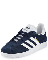 Gazelle original suede sneaker navywhite medium 4106174