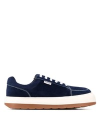 Sunnei Low Top Suede Sneakers