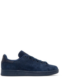 Originals navy suede stan smith sneakers medium 526549