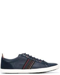Paul Smith Jeans Stitch Detail Low Top Sneakers