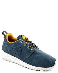 Nike S Rosherun Suede Running Shoes