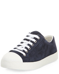 Suede cap toe low top sneaker baltico medium 648292