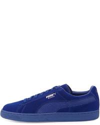 ... Puma Suede Classic Mono Reptile Sneakers Royal Blue 11636304e