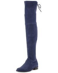 Lowland suede over the knee boot medium 3679001
