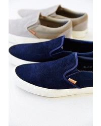 f69a0a5b01 Vans Classic California Knit Suede Slip On Sneaker