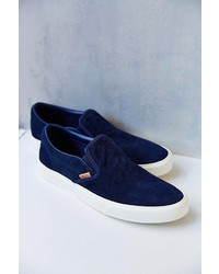 Vans Classic California Knit Suede Slip On Sneaker