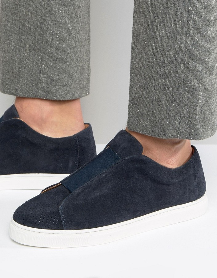 Selected Homme David Suede Slip On