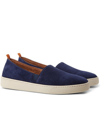 Mulo Suede Slip On Sneakers