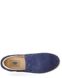 ... Ugg Fierce Water Resistant Suede Slip On Sneaker ...