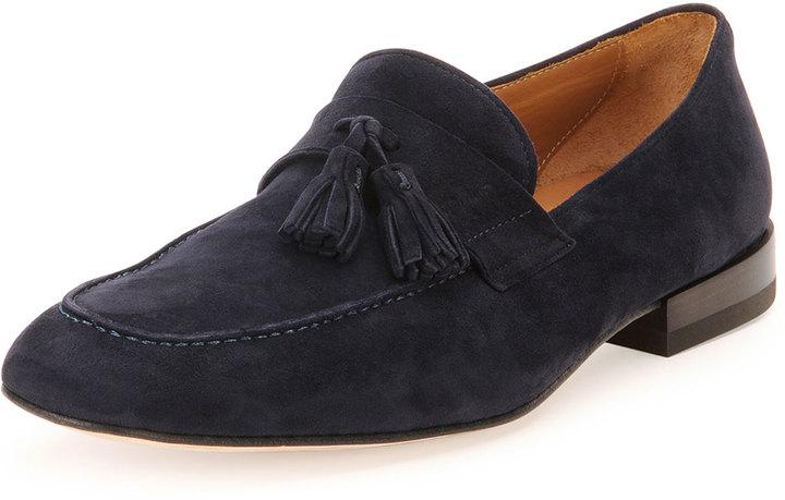 Salvatore Ferragamo Suede Tassel Loafers low cost cheap online best seller online cheap sale great deals 110KZszm