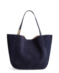 647fb19e7a9 Navy Suede Tote Bags for Women | Women's Fashion | Lookastic.com