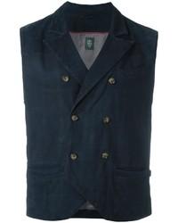 Eleventy Double Breasted Waistcoat