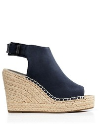 91f1861922c $130, Kenneth Cole Peep Toe Espadrille Wedges Olivia High Heel