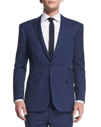 Ralph Lauren Anthony Basic Trim Fit Wool Suit Navy
