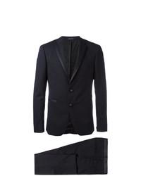Tagliatore Contrast Trim Dinner Suit