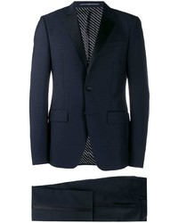 Givenchy Contrasting Panel Two Piece Suit