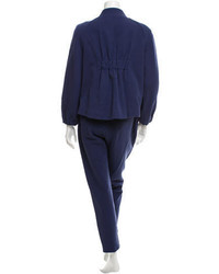 Ports 1961 Double Breasted Straight Leg Pantsuit W Tags