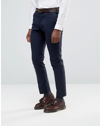 Selected Homme Suit Pants With Stretch In Slim Fit