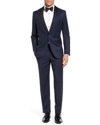 Ted Baker London Josh Trim Fit Navy Shawl Lapel Tuxedo