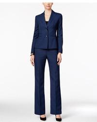 Le Suit Two Button Mlange Pantsuit